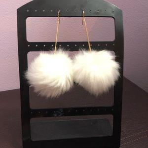 Cottonball Earrings